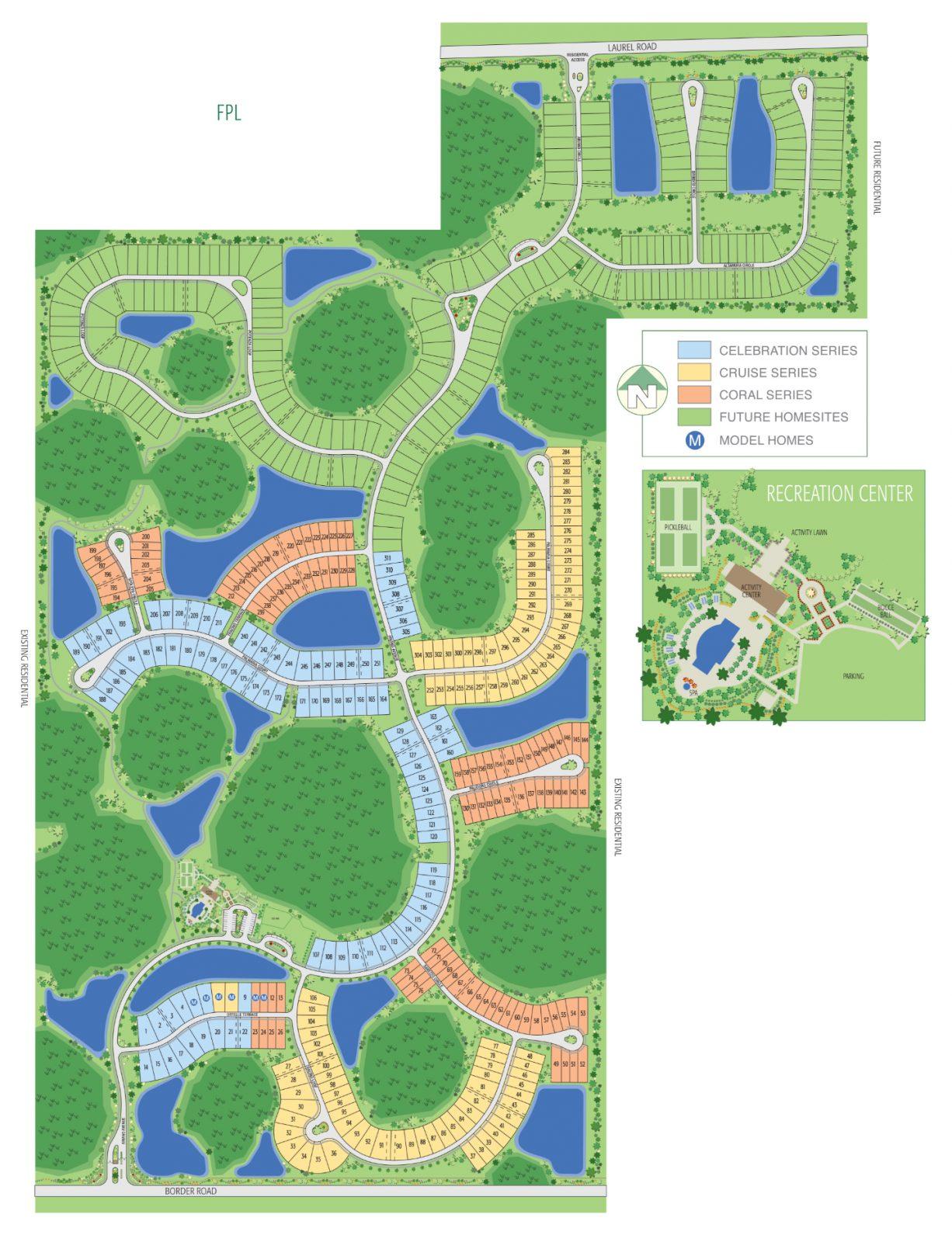 Vicenza Siteplan
